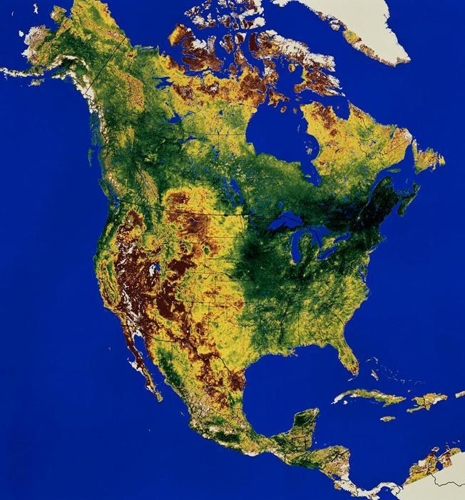 Доклад по материку северная америка 1722