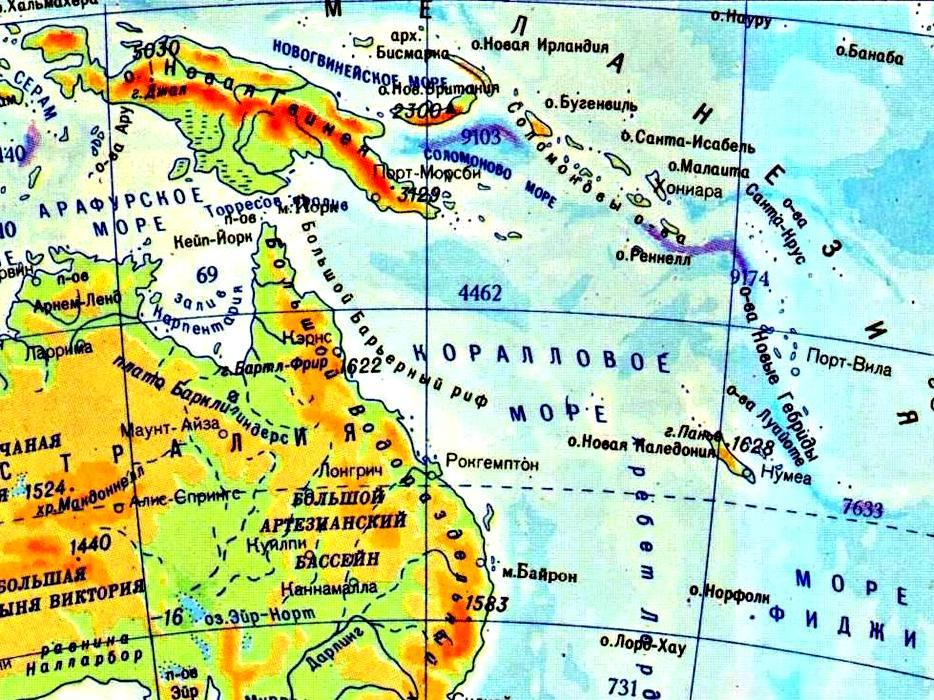 Австралия (континент) — Википедия