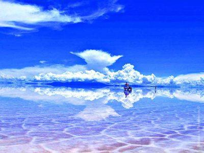 Солончак Уюни — огромное зеркало на планете