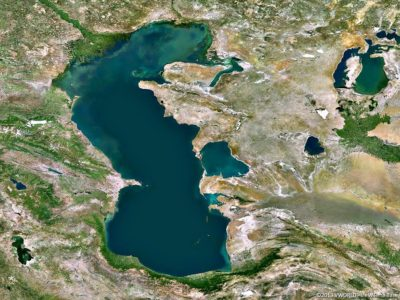 Каспийское море самое большое озеро в мире