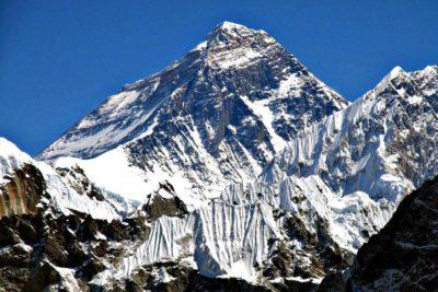 Самая высокая гора в мире Эверест (Джомолунгма)