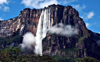 Самый высокий водопад в мире — Анхель